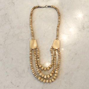 {vintage} bone necklace